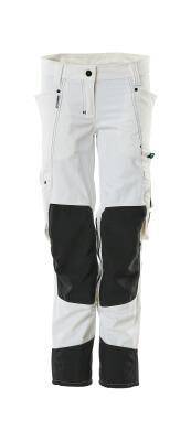 18388-311-06 Bukser med knælommer - hvid