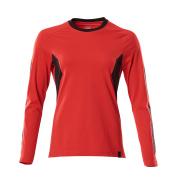 18391-959-01091 T-shirt, langærmet - mørk marine/azurblå
