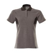 18393-961-1809 Poloshirt - mørk antracit/sort