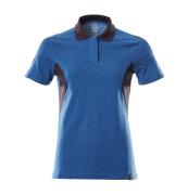 18393-961-91010 Poloshirt - azurblå/mørk marine