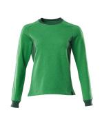 18394-962-33303 Sweatshirt - græsgrøn/grøn