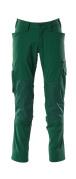 18479-311-03 Bukser med knælommer - grøn