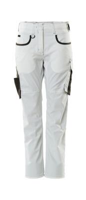 18678-230-0618 Bukser - hvid/mørk antracit