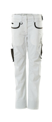 18688-230-0618 Bukser - hvid/mørk antracit