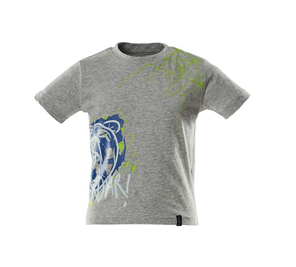 18982-965-08 T-shirts til børn - grå-meleret