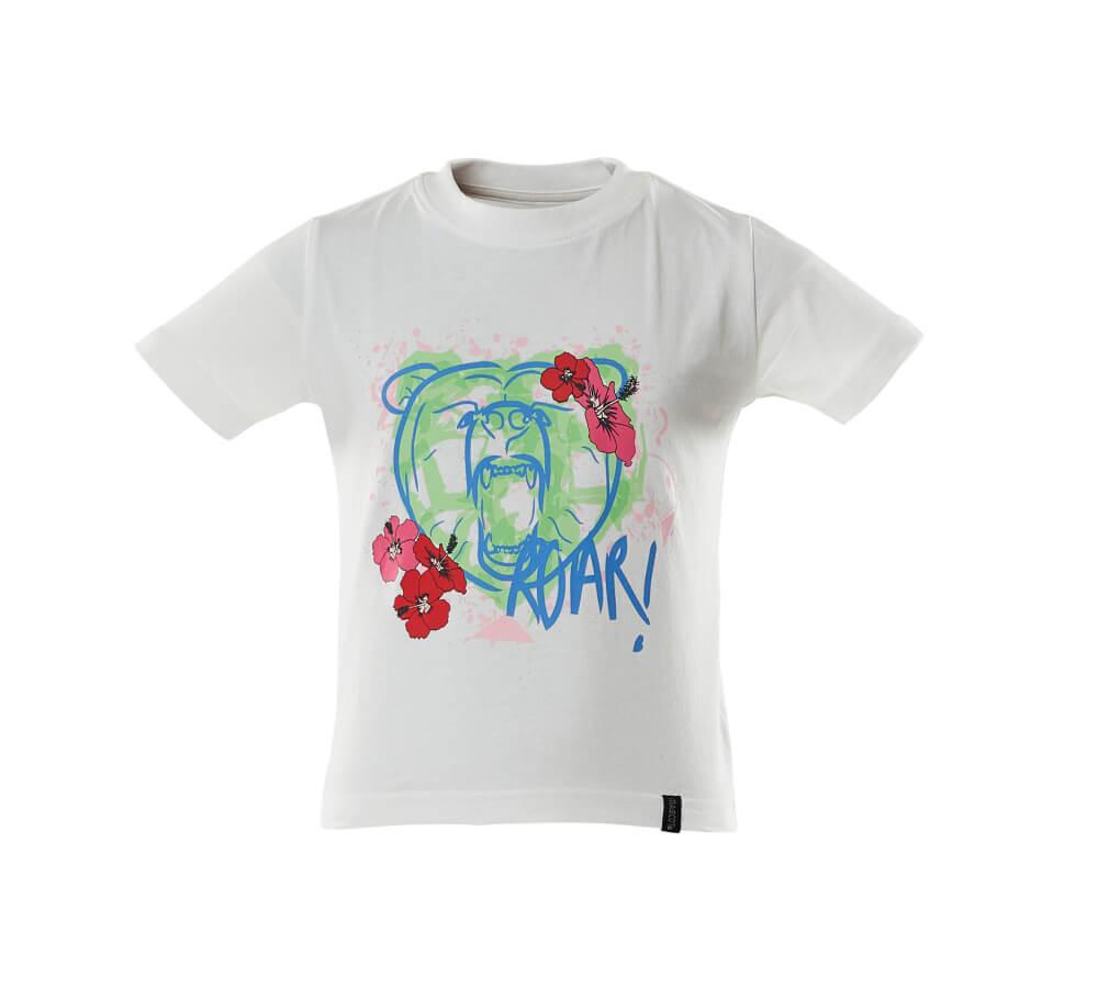 18992-965-06 T-shirts til børn - hvid