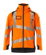 19001-449-14010 Skaljakke - hi-vis orange/mørk marine