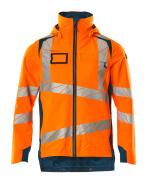 19001-449-1444 Skaljakke - hi-vis orange/mørk petroleum