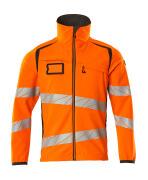 19002-143-1418 Softshell jakke - hi-vis orange/mørk antracit