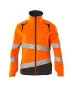 19008-511-14010 Jakke - hi-vis orange/mørk marine