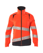 19008-511-14010 Jakke - hi-vis orange/mørk marine