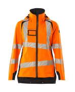 19011-449-14010 Skaljakke - hi-vis orange/mørk marine