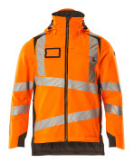 19035-449-1418 Vinterjakke - hi-vis orange/mørk antracit