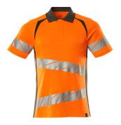 19083-771-1418 Poloshirt - hi-vis orange/mørk antracit