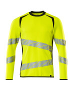 19084-781-1709 Sweatshirt - hi-vis gul/sort