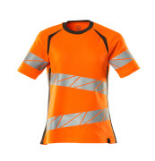19092-771-1418 T-shirt - hi-vis orange/mørk antracit