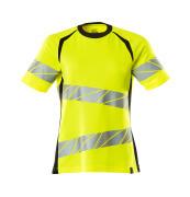 19092-771-1709 T-shirt - hi-vis gul/sort