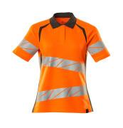 19093-771-1418 Poloshirt - hi-vis orange/mørk antracit