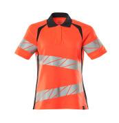 19093-771-14010 Poloshirt - hi-vis orange/mørk marine