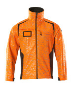 19202-291-1418 Softshell jakke - hi-vis orange/mørk antracit