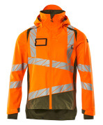 19301-231-1433 Skaljakke - hi-vis orange/mosgrøn