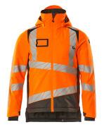 19335-231-1418 Vinterjakke - hi-vis orange/mørk antracit