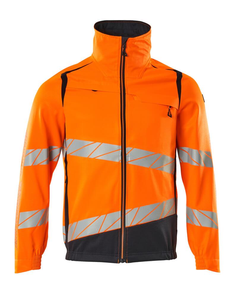 19509-236-14010 Jakke - hi-vis orange/mørk marine