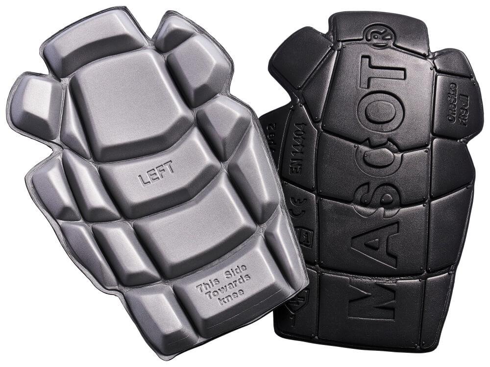20118-915-0988 Knæpuder - sort/lys grå