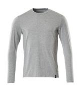 20181-959-08 T-shirt, langærmet - grå-meleret