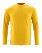20181-959-70 T-shirt, langærmet - Karrygul