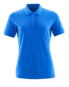 20193-961-91 Poloshirt - azurblå