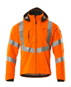 20502-246-14 Softshell jakke - hi-vis orange