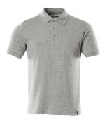 20583-797-08 Poloshirt - grå-meleret