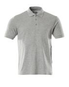 20683-787-08 Poloshirt - grå-meleret