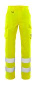20859-236-14 Bukser med lårlommer - hi-vis orange