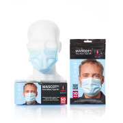 20950-921-71 Ansigtsmaske - lys blå