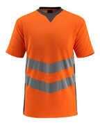 50127-933-1418 T-shirt - hi-vis orange/mørk antracit