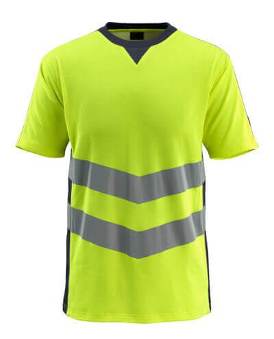 50127-933-14010 T-shirt - hi-vis orange/mørk marine