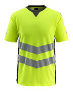 50127-933-1709 T-shirt - hi-vis gul/sort