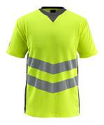 50127-933-1718 T-shirt - hi-vis gul/mørk antracit