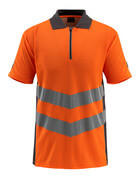 50130-933-1418 Poloshirt - hi-vis orange/mørk antracit