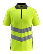 50130-933-1709 Poloshirt - hi-vis gul/sort