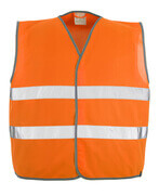 50187-874-14 Trafikvest - hi-vis orange