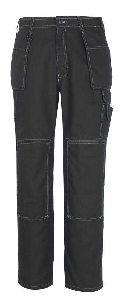 50194-884-09 Bukser med knæ- og hængelommer - sort