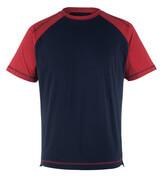 50301-250-12 T-shirt - marine/rød