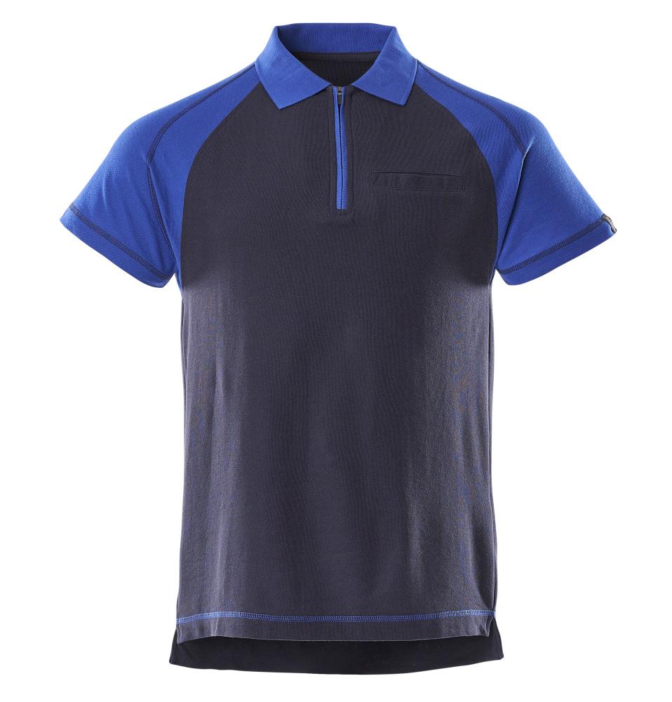50302-260-111 Poloshirt med brystlomme - marine/kobolt