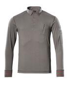 50352-833-118 Polosweatshirt - lys antracit