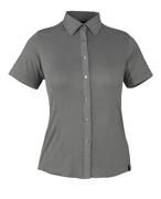 50374-863-118 Skjorte, kortærmet - lys antracit