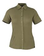50374-863-119 Skjorte, kortærmet - lys oliven