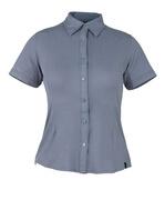 50374-863-180 Skjorte, kortærmet - blågrå